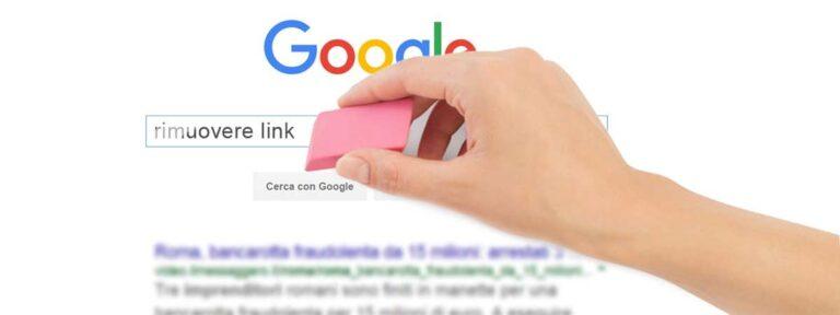 cancellazioni articoli da google